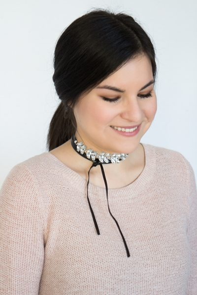 Isabelle statement choker necklace